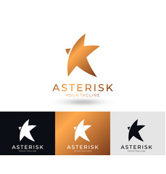 star logo universal abstract logo with a vector image