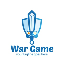 War Game Logo vector