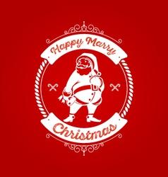 Christmas Badge 4 vector