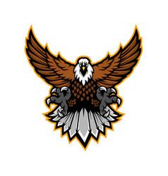 eagle sport vector image