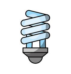 Economy light bulb icon vector
