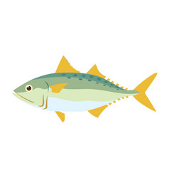 Graphic fish vector