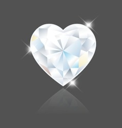 Heart Diamond vector