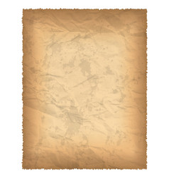 Old paper with burnt edges vector
