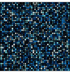 Squares technology pattern background vector image