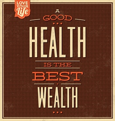 Vintage Quote typographic background design vector image