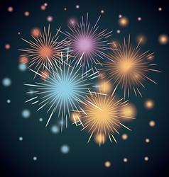 firework design vector image