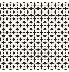 Flowers stylized seamless pattern vector image