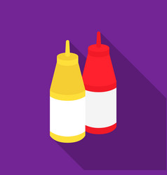sauce icon in flat style for web vector image