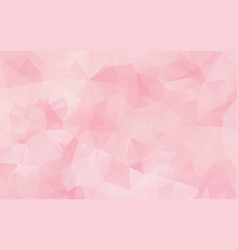 abstract pink polygonal which consist of vector image