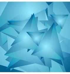 Abstract tech polygonal background vector image