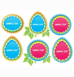 funny easter vector image
