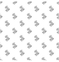 natural bamboo pattern seamless vector image