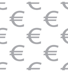 New Euro seamless pattern vector image