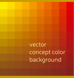 Red and yellow abstract concept geometry vector