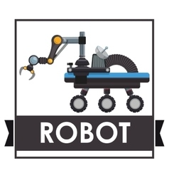 Robot icon design vector