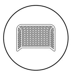 Soccer gate football gate handball gate concept vector