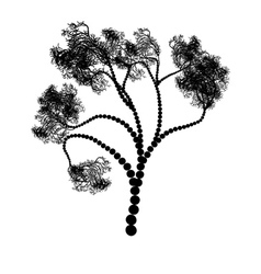 Stylized Tree Silhouette vector