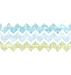 Fabric textured chevron stripes horizontal vector image vector image