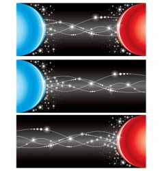 set of electricity background vector image