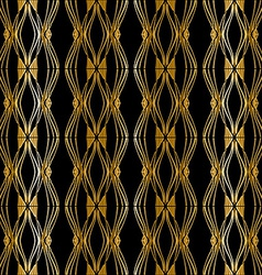 Modern gold stylish vector image