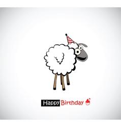 Happy Birthday funny vector image vector image
