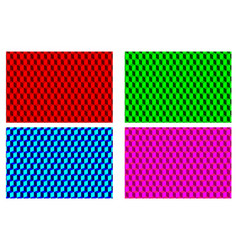 cube - abstract pattern vector image