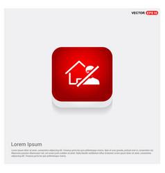 do not enter icon vector image