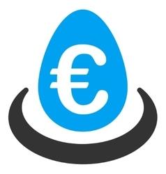 Euro Deposit Icon vector