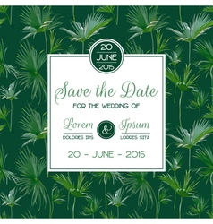 Invitation Congratulation Card Set - for Wedding vector image