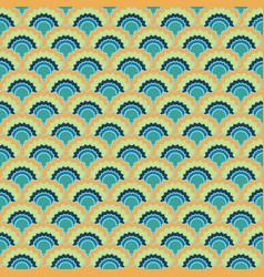 Minimalist mermaid scales squama background vector