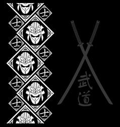 New pattern 2019 samurai 0017 vector