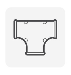 pipe plastic cover vector image