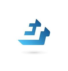 Symbol and ampersand logo icon design vector