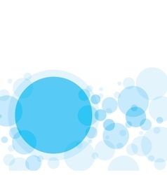 Transparent Circles Abstract Background vector