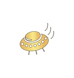 Ufo computer symbol vector