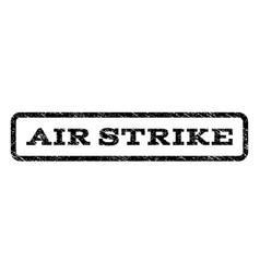 Air strike watermark stamp vector