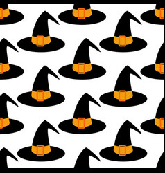 witch hat pattern vector image