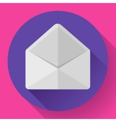 Open Envelope Mail Icon new letter message vector image vector image