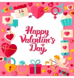 Valentines Day Paper Concept vector image vector image