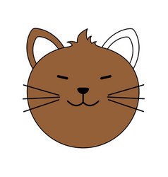 cute animal cartoon vector image vector image