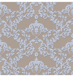 Baroque Luxury Ornament lace decorated vector image