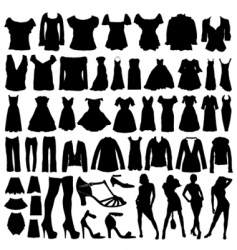 Fashion clothes vector