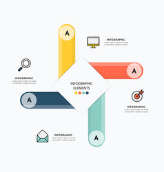 Icons and infographic elements design vector