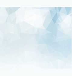 light blue blurry triangle background design vector image