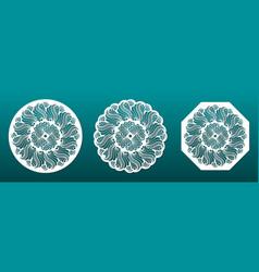 paper art diy crafting vector image