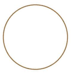 Rope circle vector