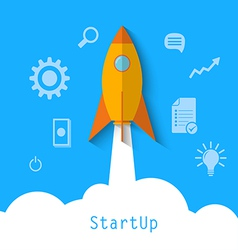 start up1 vector image