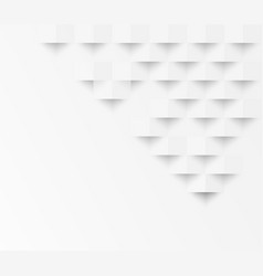 white square geometric texture background vector image vector image