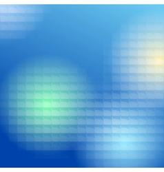 blue lite tiles background vector image vector image